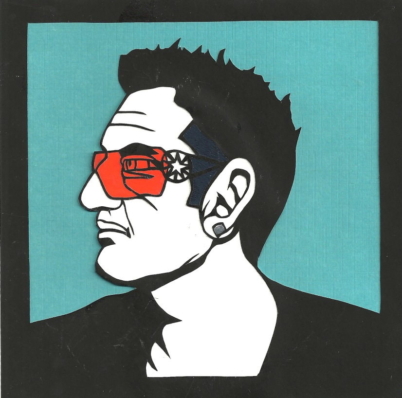 "Bono / 2014 / 6""x6"" / Sold."