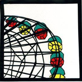 """Ferris Wheel, Santa Monica / 2012 / 5""""x5"""""""