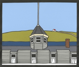 "Island Inn 7 / 2014 / 8'x10"" / Sold."