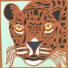 """Jaguar / 2013 / 5""""x5"""""""