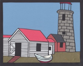 """Lighthouse 8 / 2015 / 8""""x10"""" / Sold."""