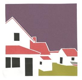 "Monhegan Museum 5 / 2014 / 6""x6"" / Sold"