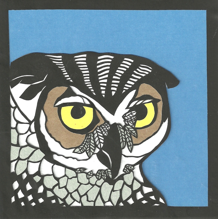 "Owl 2 / 2011 / 5""x5"" / Sold."