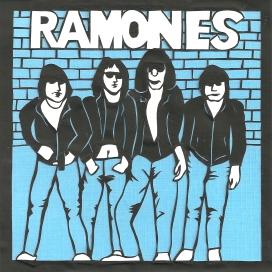 """Ramones / 2012 / 6""""x6"""""""